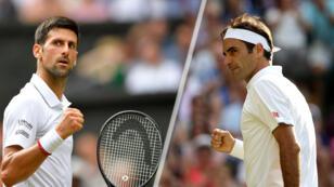 El serbio Novak Djokovic jugará la final de Wimbledon contra Roger Federer, a quien ya venció en 2015 y 2014.