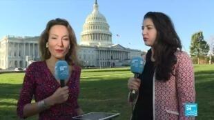Notre envoyée spéciale à Washington Stéphanie Antoine et son invitée, la journaliste Sonia Dridi.