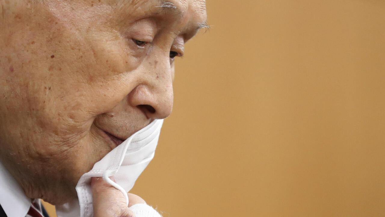 Le patron des JO de Tokyo Yoshiro Mori démissionne après ses propos sexistes - FRANCE 24