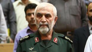 الجنرال الإيراني حسين همداني الذي قتل في ريف حلب