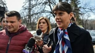 Romanian magistrate Laura Codruta Kovesi headed the National Anti-Corruption Directorate (DNA) from 2013 to 2018 before being controversially removed at the government's behest.
