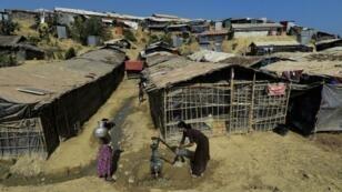 أحد مخيمات الروهينغا ببنغلادش