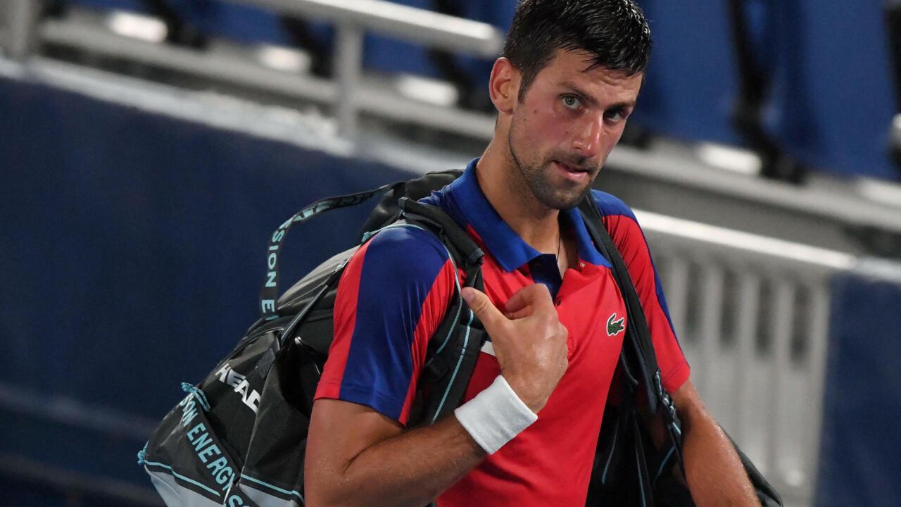 Tokyo 2021 : vendredi noir pour Novak Djokovic, éliminé en simple et double mixte