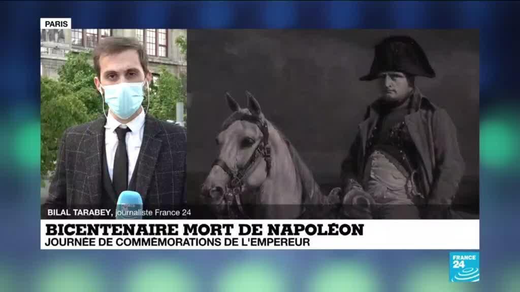 2021-05-05 14:15 Bicentenaire de la mort de Napoléon : la France commémore une figure complexe et controversée