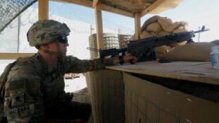 """Los tres soldados asesinados por un miembro del grupo Talibán hacían parte de la misión """"Resolute Support"""" de la OTAN. 5 de agosto de 2018."""
