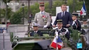 2020-07-14 15:05 14 juillet : retour sur une cérémonie militaire inédite place de la Concorde