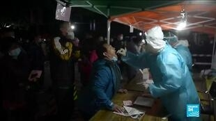 2020-10-13 10:09 Covid- 19 : la Chine teste 3 millions de personnes en deux jours à Qingdao