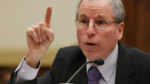 L'ancien ambassadeur américain en Syrie Robert Ford, le 20 mars 2013, lors d'une audition au Congrès portant sur le conflit syrien.