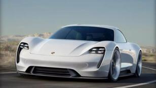La nouvelle Mission E 100 % électrique de Porsche