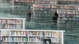 With more than one million books and 500,000 digital editions, Qatar's National Library is the largest in the Middle East