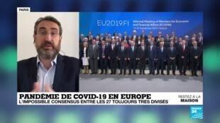 2020-04-08 14:04 Pandémie de Covid-19 : Échec des discussions à 27 autour d'un plan de relance européen