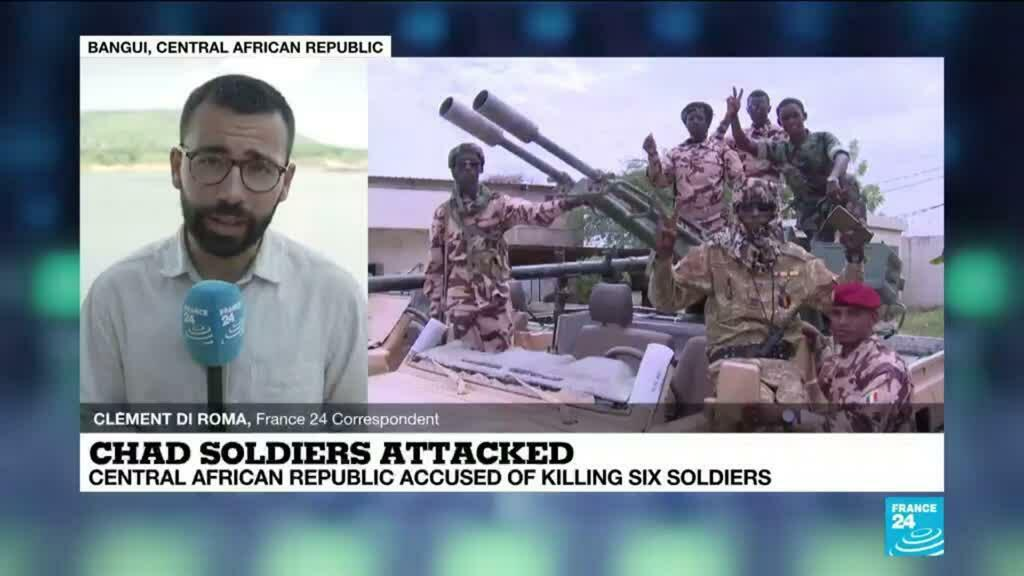 2021-05-31 13:10 Chad accuses Central African Republic army of killing six of its soldiers