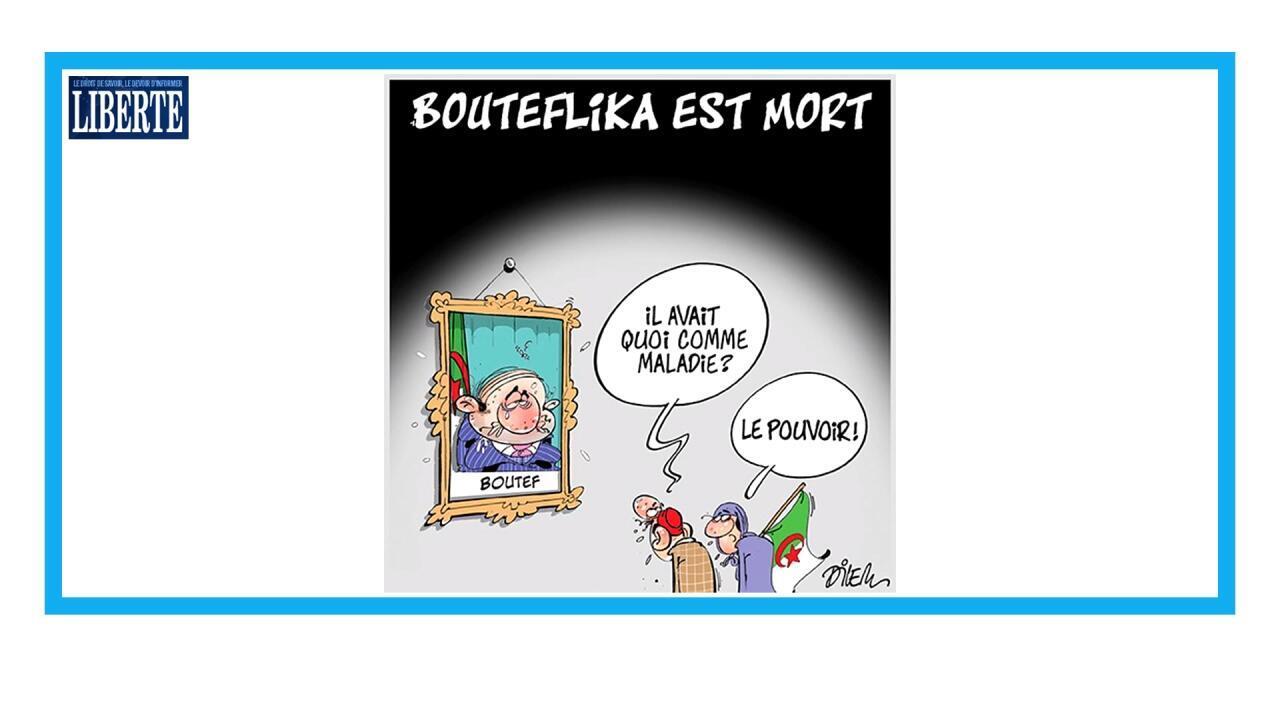 Obsèques de l'ancien président Abdelaziz Bouteflika à Alger