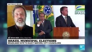 2020-11-15 19:02 Brazil municipal elections : Brazilian vote to elect mayors, city councilors