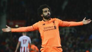 Mohamed Salah a devancé Pierre-Emerick Aubameyang et Sadio Mané dans la course au titre de meilleur joueur africain de l'année.