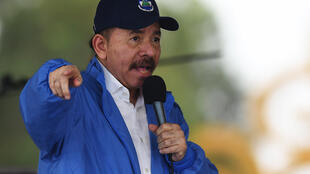 Archivo. El presidente de Nicaragua, Daniel Ortega, en un acto en Managua, Nicaragua, el 29 de agosto de 2018.