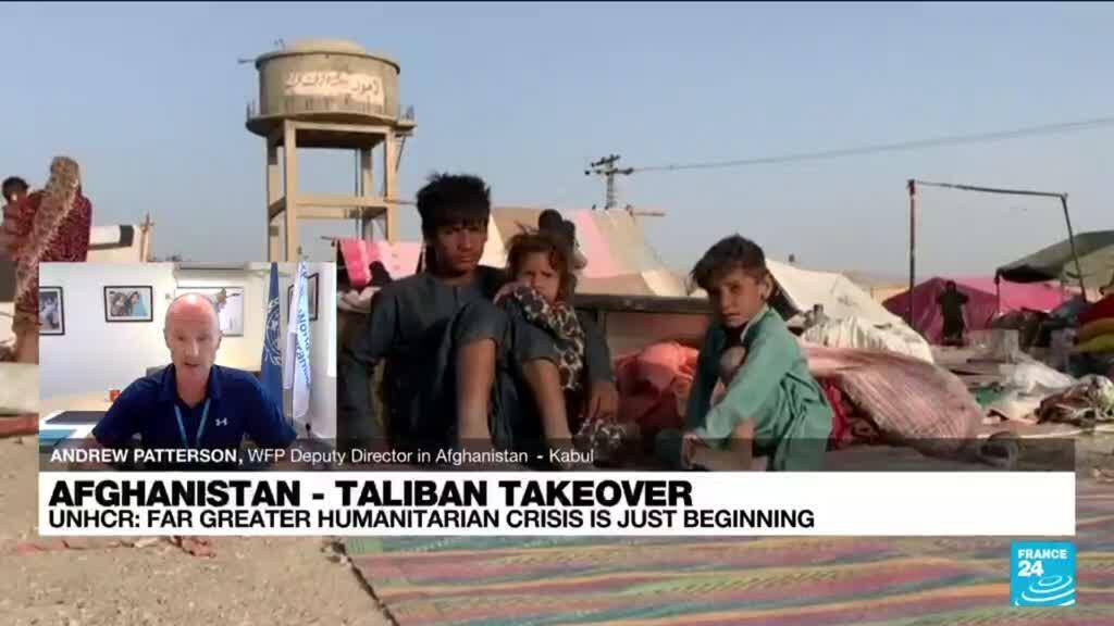 2021-09-01 14:34 Up to 500,000 Afghans could flee by year-end - UNHCR