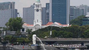 Nine Britons were charged in Singapore Friday over a yacht party that breached coronavirus restrictions