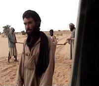 """L'Algérien Mokhtar Belmokhtar, surnommé """"le Borgne"""", est l'un des chefs d'Aqmi."""