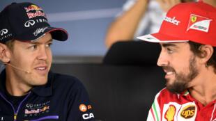 Chez Ferrari, en 2015, un champion du monde remplacera l'autre.