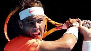 Rafael Nadal easily won his first match at the Australian Open