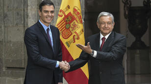 Fin janvier, le président du gouvernement espagnol, Pedro Sanchez, avait effectué une visite officielle au Mexique.