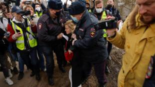 navalny aliada detenida