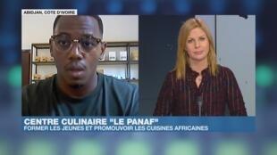 Loïc Dablé dans Afrique Hebdo