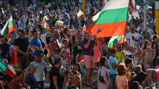Protesters were out in force again Friday, demanding the resignation of the government