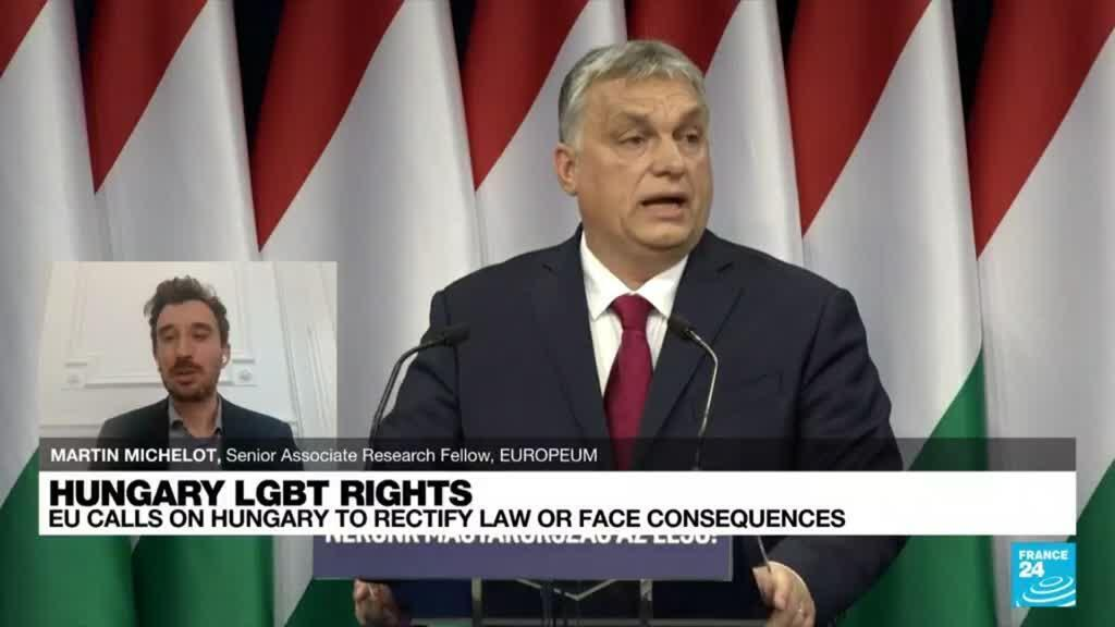 2021-07-07 18:37 Hungary says EU efforts to overturn its ban on gay content in schools will be in vain