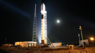 Une fusée Falcon 9.