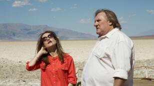 """Isabelle Huppert et Gérard Depardieu dans """"Valley of Love"""" de Guillaume Nicloux."""