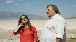 "Isabelle Huppert et Gérard Depardieu dans ""Valley of Love"" de Guillaume Nicloux."