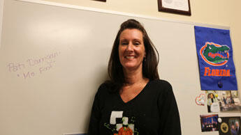 """Patricia Darrigan is fondly called """"Ms. Fix-it"""" by her colleagues at the University of Miami Tissue Bank."""