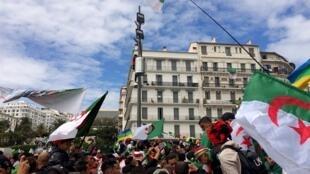 مظاهرات بالجزائر العاصمة 5 أبريل/نيسان 2019