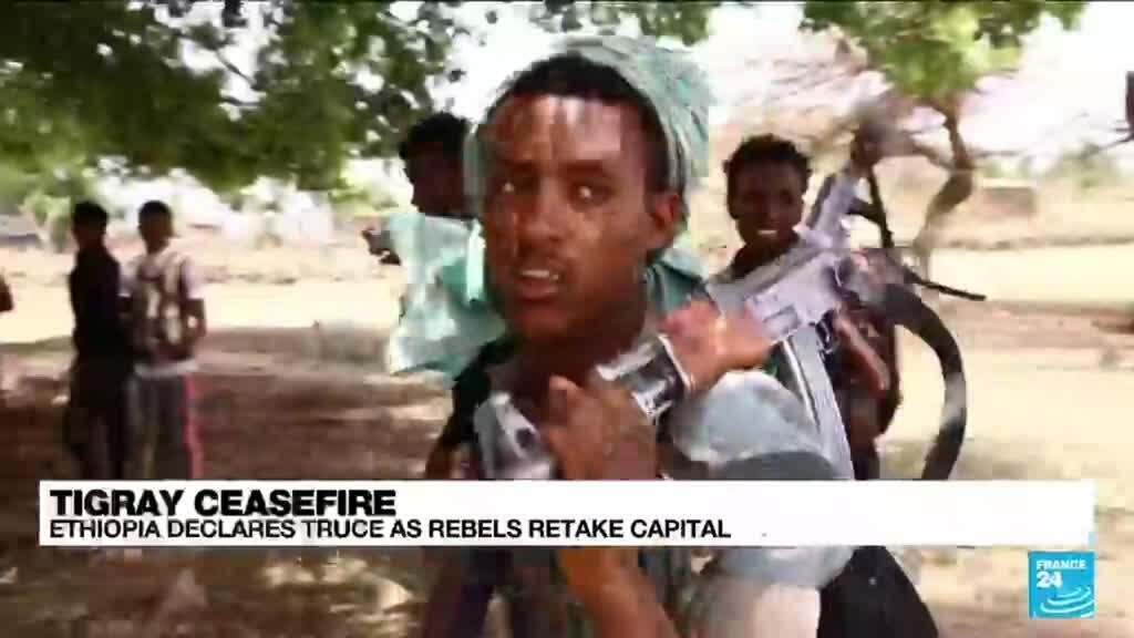 2021-06-29 10:01 Ethiopia violence: Tigray forces say they are 100% in control of regional capital
