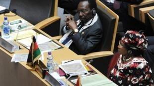 Le président par intérim Dioncounda Traoré.