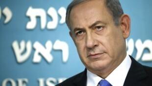 - رئيس الوزراء الإسرائيلي بنيامين نتانياهو