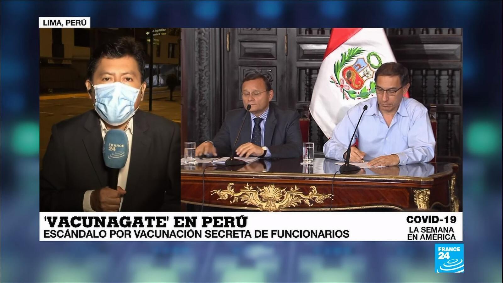 semana en Ámerica - Vacunagate Perú