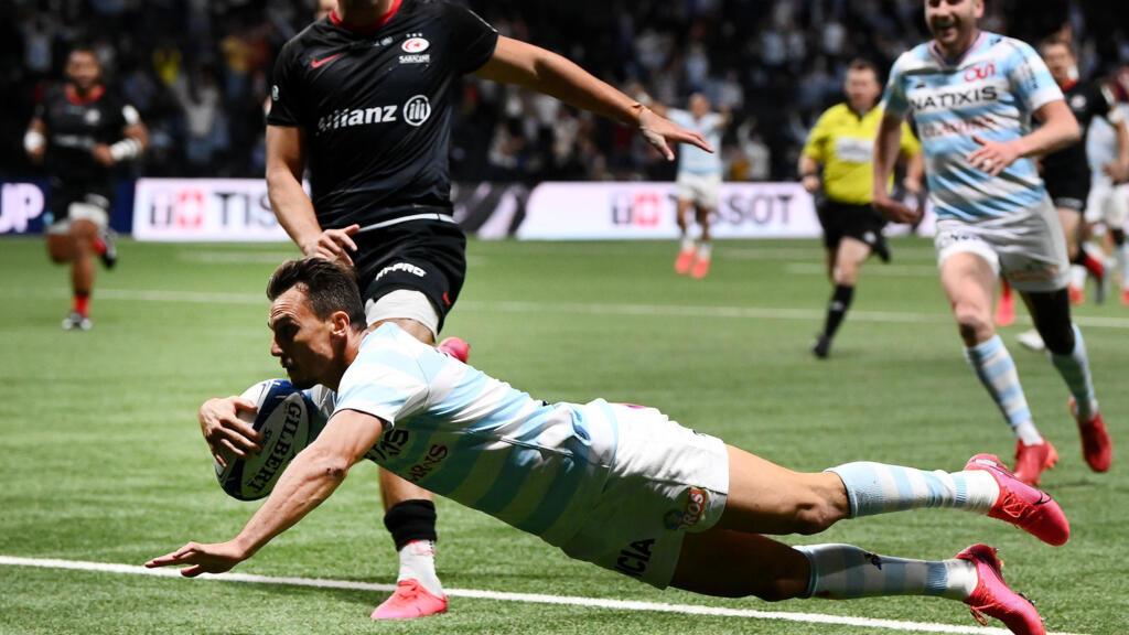 Rugby : le Racing 92 s'offre Saracens sur le fil et se qualifie pour la finale de la Coupe d'Europe