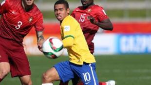 البرازيلي أمام البرتغال في 14 حزيران/يونيو 2015