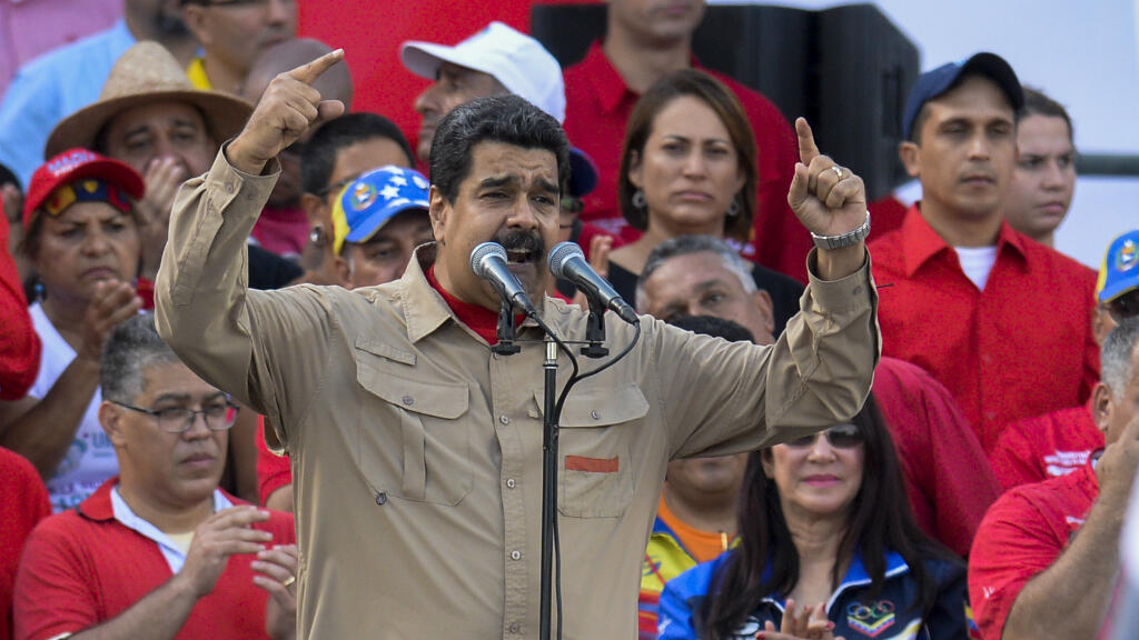 Nicolas Maduro à Caracas, le 17 décembre 2016.