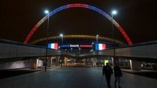 ملعب ويمبلي في لندن سيحتضن مساء الثلاثاء المباراة الودية بين إنكلترا وفرنسا