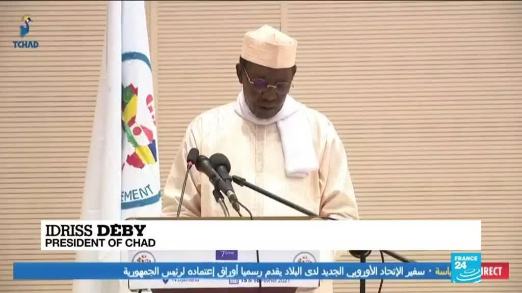 2021-02-16 08:02 Chad calls for world support as Sahel summit begins