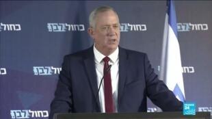 2020-03-02 10:03 Législatives en Israël : les adversaires Netanyahu et Gantz appellent aux votes