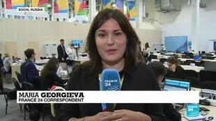 2019-10-23 18:10 FRANCE 24's Maria Georgieva reports from the Russian-African summit in Sochi