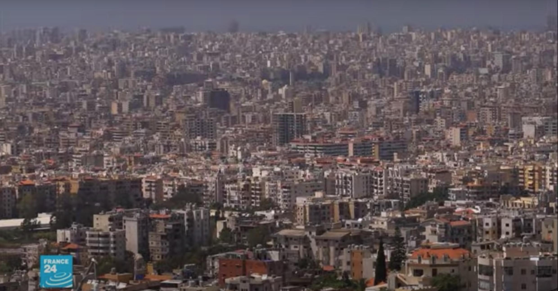 منظر عام للعاصمة اللبنانية بيروت.