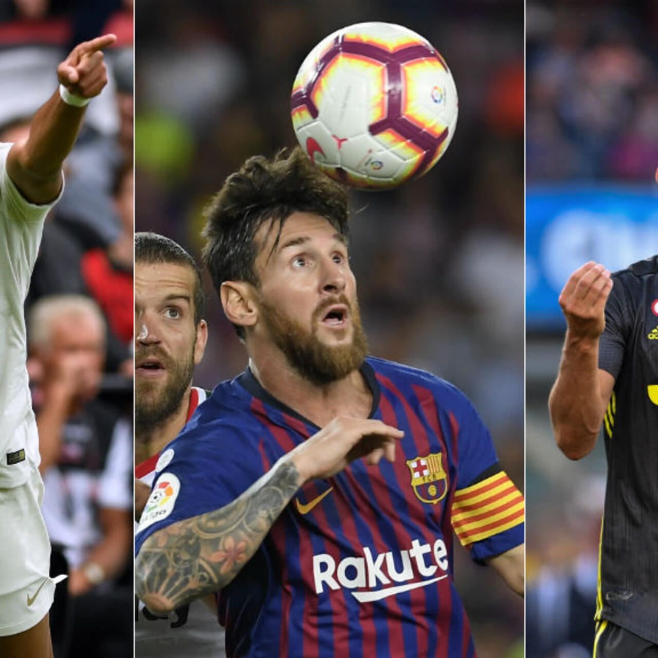 Ronaldo, Mbappé, Messi - a winning debut in European competitions