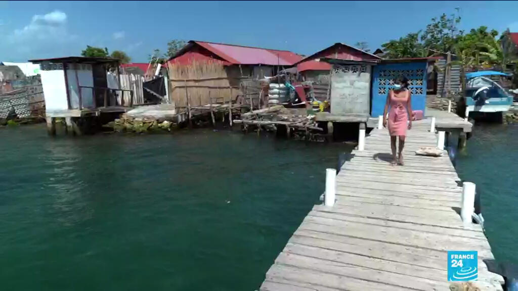 Indigenous islanders seek refuge as climate change reaches Panama's shores