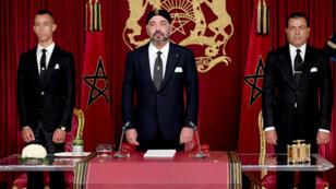 Le roi Mohammed VI s'est exprimé depuis d'Al-Hoceïma (nord du Maroc), épicentre d'un mouvement social en 2016 et 2017
